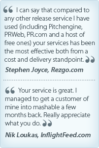 Testimonial for Travpr by Stephen